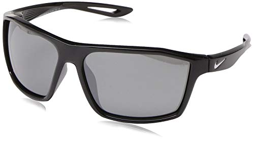 Nike Damen Legend S Ev1061 Sonnenbrille, Black/Grey Silver Flash, Standard