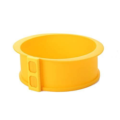 Runde Silikon-kuchenform Zum Backen - 9 Zoll 7-zoll-6-zoll-kuchenform Mit Losem Glasboden Und Abnehmbarem Ring - Auslaufsichere Lfgb-kieselgel-backform Für Den Ofen