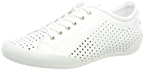 Andrea Conti 345767, Zapatillas Mujer, Weiß, 39 EU