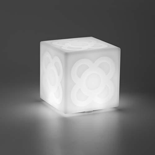 LAMPANOT de Faro Barcelona. Lámpara decorativa LED, diseño del Panot de las aceras de Barcelona, 3 intensidades, batería recargable USB incluido, lámpara regalo, obsequio, Lámpara portátil.