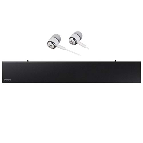 Samsung HW-N300 2-Channel TV Mate Soundbar, Bluetooth Wireless, Built-in USB Port, Surround Sound Expansion, Booming Bass with a Built-in Woofer, Audio Remote App/Free ALPHASONIK Earbuds