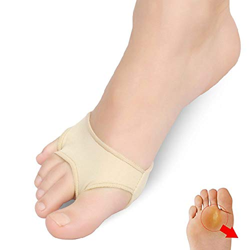 Pedimend pedimendttm Stoff Gelpads für Mittelfußknochen, - Vorfuß Kissen Bezüge Metatarsal - Metatarsal Arch Support - Morton-Neuralgie - Orthopädische fügt - Ball of Foot Kissen - Unisex - Foot Care