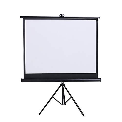 Proyector de pantalla es fácil de instalar y operar Móvil de la pantalla del proyector con el soporte anti-arrugas de la película de la pantalla Home cinema, cine, Interior, Exterior Conveniente panta