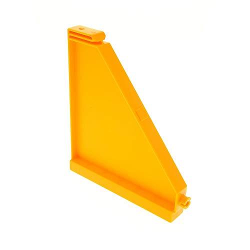1 x Lego Duplo Dach Seiten Wand bright light hell orange Puppenhaus Gebäude Villa für Set 5639 4974 9091 3778 51383