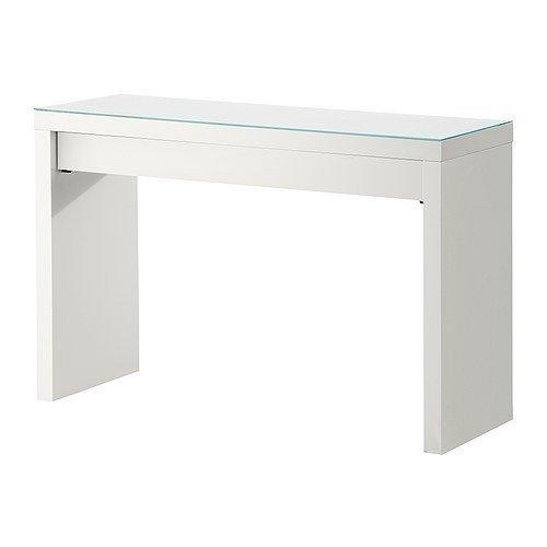 2 x Ikea MALM - Dressing Tafel, Wit - 120x41 cm