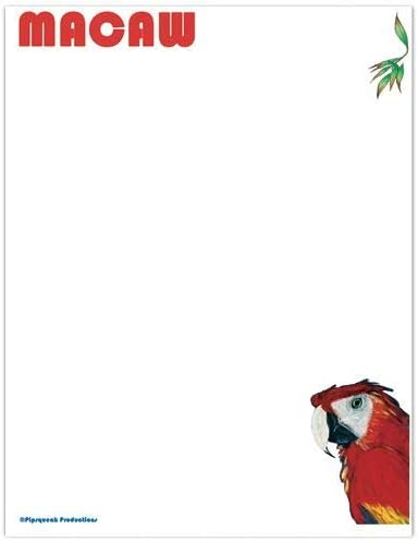 Discount is also underway Animal Theme Gifts Macaw Large Set Sales of SALE items from new works Stationery