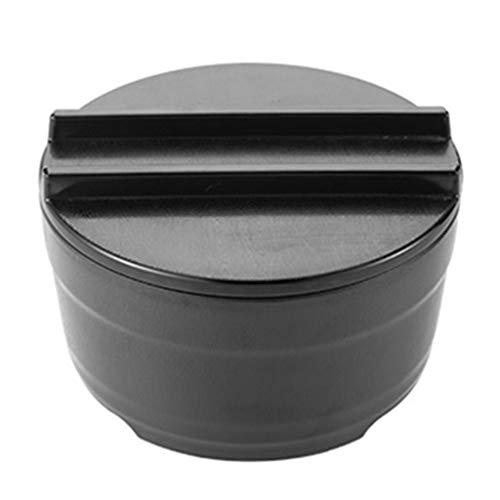 Cuenco De Ramen De Estilo Japonés Cuencos Y Cucharas De Ramen Grandes Negros con Palillos para Cereales Ensalada Pasta Sopa (Color : Black, Size : 18×9cm)