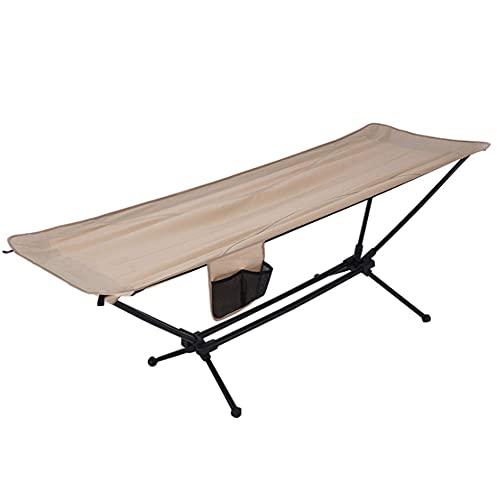 BBZZ Hamaca plegable que acampa silla oscilante con soporte de aleación de...