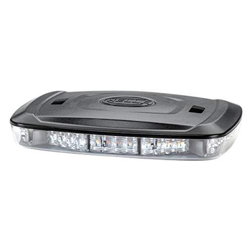 HELLA 2RL 014 566,411 LED,Luz de aviso , Micro Lightbar , 12y24V , transparente , amarilloyblanco , Cable: 500mm , montaje exterior
