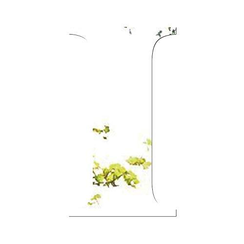 Janly Clearance Sale Adhesivo decorativo para pared de espejo, 26 letras, para decoración del hogar, decoración del hogar, decoración del hogar para el día de Pascua (I)