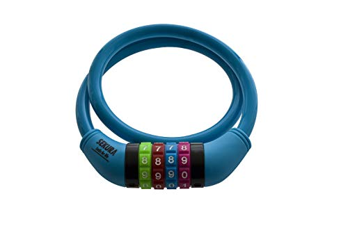 Büchel Sekura Zahlenkombinationsschloss, blau, One Size - 3