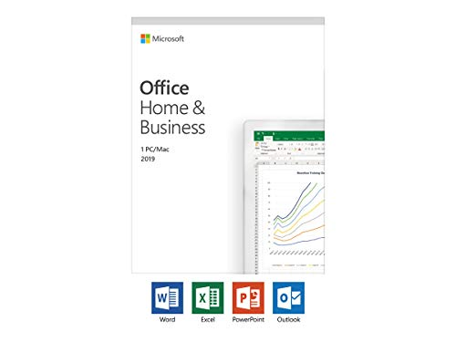 Microsoft Office 2019 Home & Business multilingual | 1 PC (Windows 10) /Mac | Dauerlizenz | Box