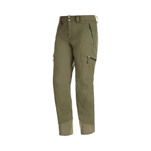 Mammut M Stoney HS Pants Oliv, Herren Hose, Größe 46 - Short - Farbe Iguana