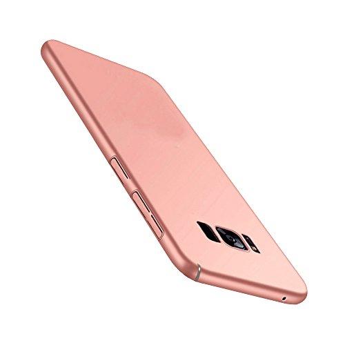 FANSONG Galaxy S9 Plus 2018 Case, Ultra Slim Anti-Scratch Anti-Fingerprint Hard PC Matte Sleek Phone Case for Samsung Galaxy S9 Plus 2018 (Rose Gold)