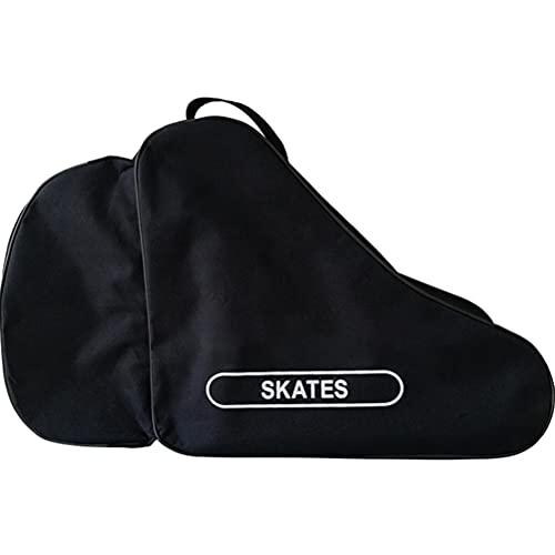 Kagodri Bolsa de patinaje portátil, bolsa de transporte de patín en línea de tela Oxford, impermeable, bolsa de lona y playa con correa ajustable para el shoudler unisex