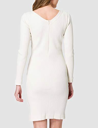 BOSS C_Erry 10234411 01 Vestido, Color Blanco Abierto, S para Mujer