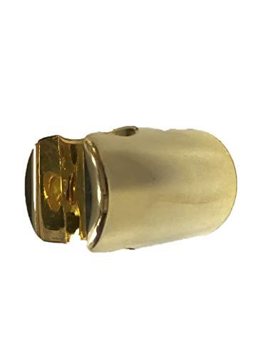 Douchekop van goud met manchet