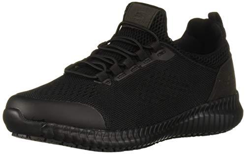 Skechers Women's Cessnock Carrboro Health Care Professional Shoe, Black, 9.5 W US