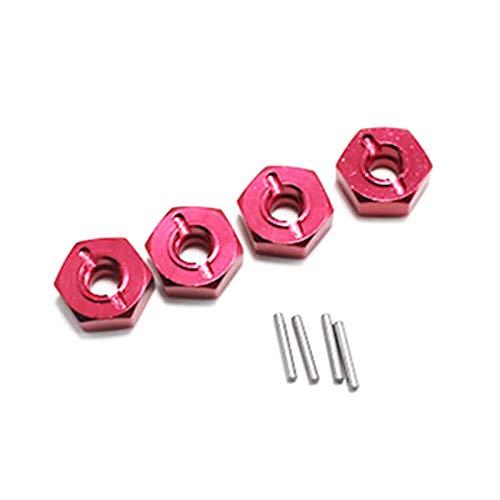 BOINN para 144001 1/14 RC Coche Repuestos Combinador de Metal, Rojo