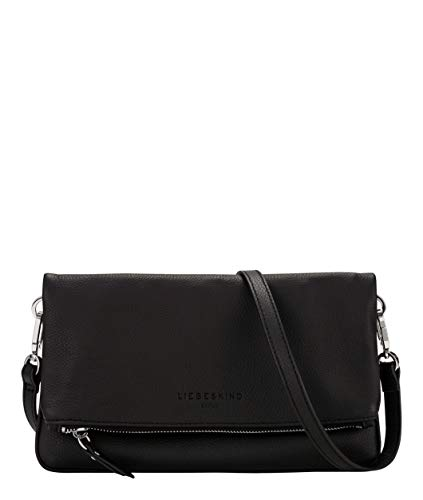 Liebeskind Berlin Clutch, Aloe, Medium, black