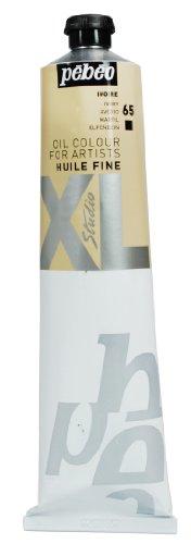 Pébéo - Olio fine XL 200 ML - Pittura ad Olio Bianco Avorio - Pittura ad Olio Pébéo - Bianco Avorio 200 ml