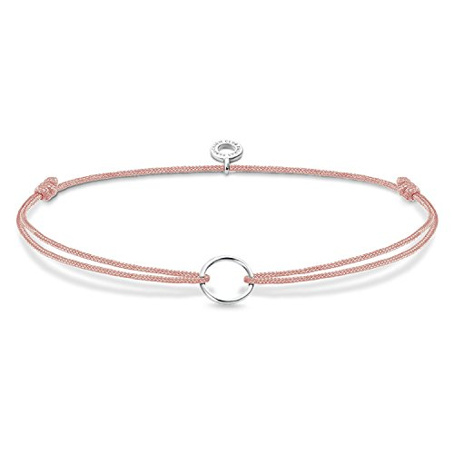 Thomas Sabo Damen Charm-Armband Little Secret Kreis 925er Sterling Silber rose LS068-173-19