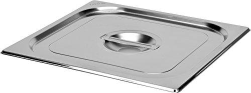 Yato Profi Edelstahl GN Gastronormbehälter 2/3 Größen Auswahl 20-200mm auch Deckel Gastro Norm Behälter (Deckel für 2/3)