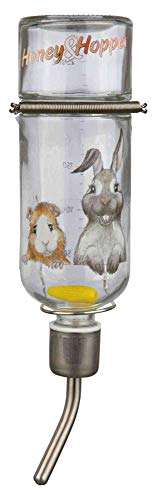 Trixie 60446 Honey & Hopper Kleintiertränke, Glas, 250 ml