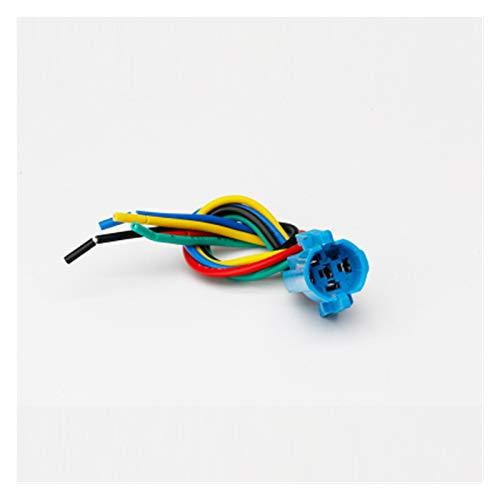 Giratorio Interruptor 1 unids 12 mm 2 Posición 3 Posición 3V 6V 12V 24V 220V Interruptor de mando de metal Flecha con ligero auto-bloqueo / encierro giratorio ( Color : Connector , Size : 3 Position )