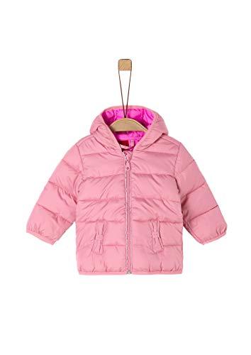 s.Oliver Unisex - Baby Steppjacke mit Schleifen-Details light pink 86