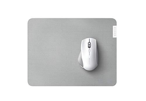 Razer Pro Glide - Weiches Mauspad für Komfort und Produktivität im Büro (texturierte Stoff-Oberfläche, rutschfest) Weiß