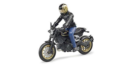 Bruder 63050 - Scrambler Ducati Cafe Racer mit Fahrer