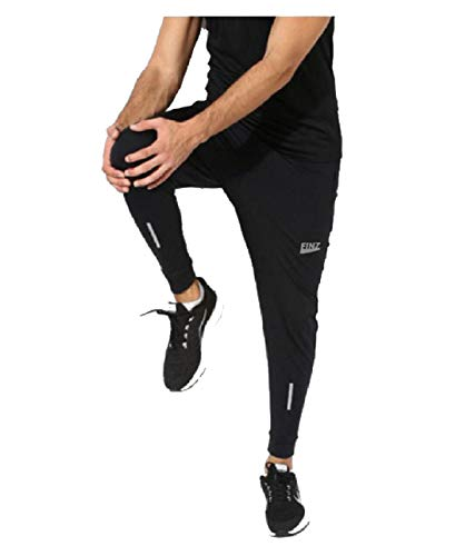 Finz Jogger Pants for Men Man Gents Boys Black