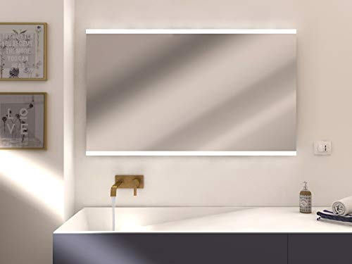 styleglassitalia.com Specchiera Luminosa LED Modello...