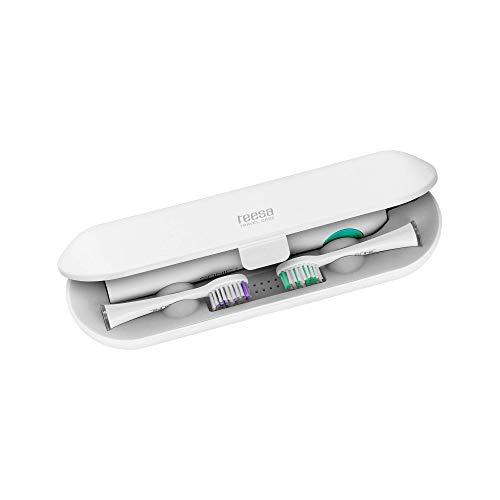 Teesa Estuche de viaje para cepillo de dientes sónico TSA8010 y 2 cabezales de 110 g