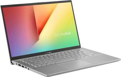 ASUS VivoBook 14 X412UA-EK319T Intel Core i3 7th Gen 14-inch FHD Thin and Light Laptop (4GB RAM/1TB HDD/Windows 10/Integrated Graphics/FP Reader/1.50 Kg), Transparent Silver