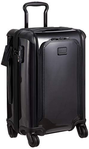 TUMI - Tegra Lite Max International Expandable Carry-On Luggage - 22 Inch Hardside Suitcase for Men and Women - Black/Black