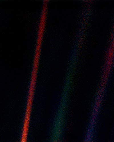 NASA Voyager 1 Earth Pale Blue Dot Photo Silver Halide Pri Sale special Discount mail order price 16x20