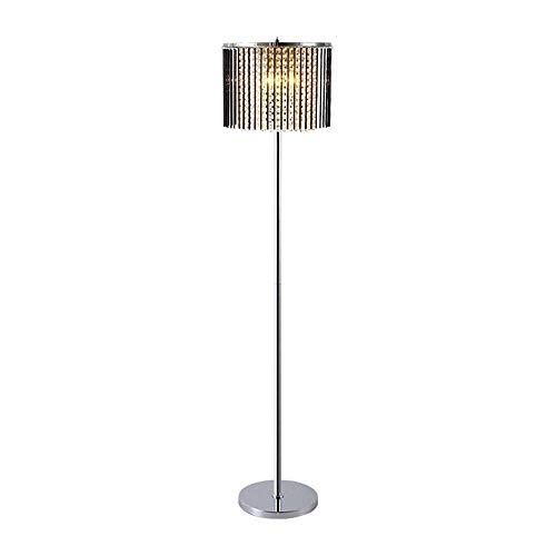 Floor Lamp Creative Personality Led Crystal Floor Lamp Modern Minimalist Creative Living Room Bedroom Vertical Pole Floor Lamp