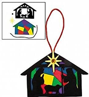Best stained glass nativity craft Reviews