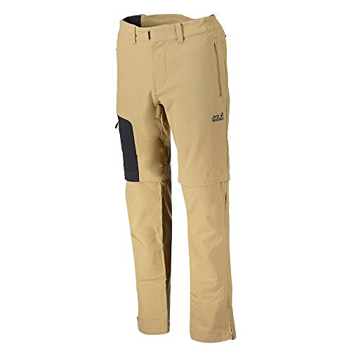 Jack Wolfskin Activate Zip Away Pantalon Hommes, Sandstone, 50