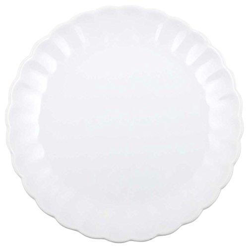 IB Laursen - Teller/Essteller/Speiseteller - Mynte Pure White/weiß - Keramik - Ø 28 cm