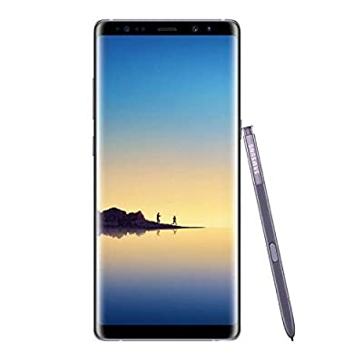 Samsung Galaxy Note8 Orchid Gray (Verizon) (Renewed) by Samsung