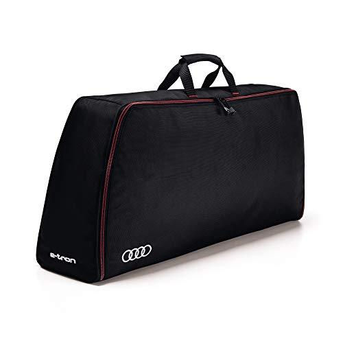 Audi 4KE071073 Aufbewahrungstasche Kofferraumtasche Ringe Logo e-tron Kabeltasche, schwarz