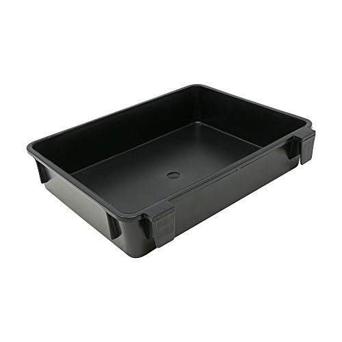 Tronixpro Beach Seat Box Side Tray Caja de Aparejos de Pesca, Unisex Adulto, Negro, Talla única