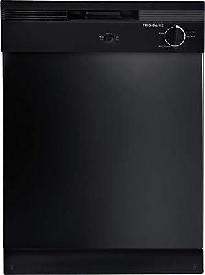 "Frigidaire FBD2400KB - Black 24"" Built-In Dishwasher"