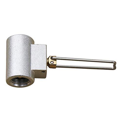 Amagogo Adaptador de Recarga de propano acoplador de Tanque de Gas Universal para Botella de Tanque de propano Accesorio de Estufa de Tanque Plano