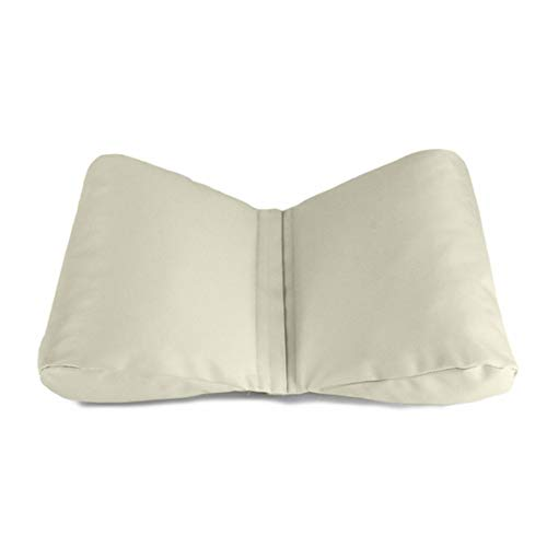 nbvmngjhjlkjlUK Baby Photography Props Pillow,Butterfly Type Soft PU Newborn Baby Photography Props Pillow Baby Wedge Shaped Infant Positioner Infant Pillow Cushion(White