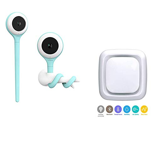 Review Lollipop Baby Monitor HD WiFi with Lollipop Sensor (Combo)- Advanced Night Vision - Smart Bab...