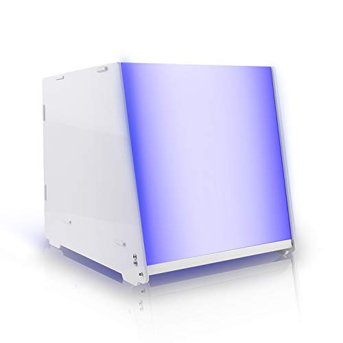 SUNLU Caja de curado de resina UV adecuada para lámpara de secado de resina de 405nm con temporizador eléctrico y ajustable para impresora 3D SLA DLP LCD y modelo UV